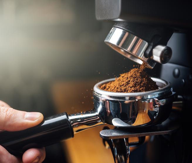Friskmalet kaffe